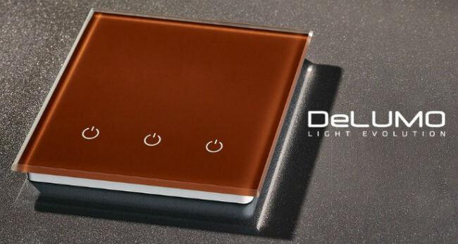 сенсорный выключатель delumo