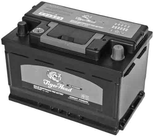 Типовой необслуживаемый аккумулятор