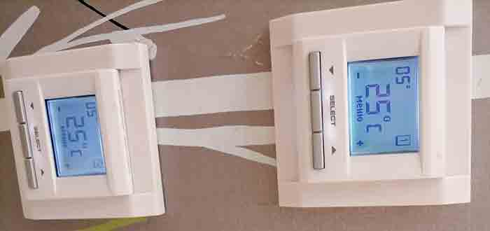Как отключить терморегулятор подогрева пола
